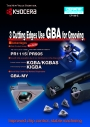 Kyocera: 3 Cutting Edges Use GBA for Grooving